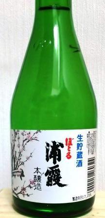 ボトル浦霞 (1)