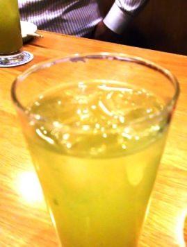 べにふうき茶割り (2)